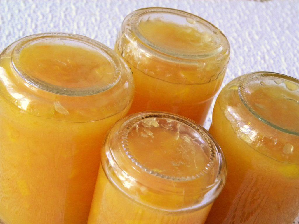dżem z cukinii i pomarańczy
