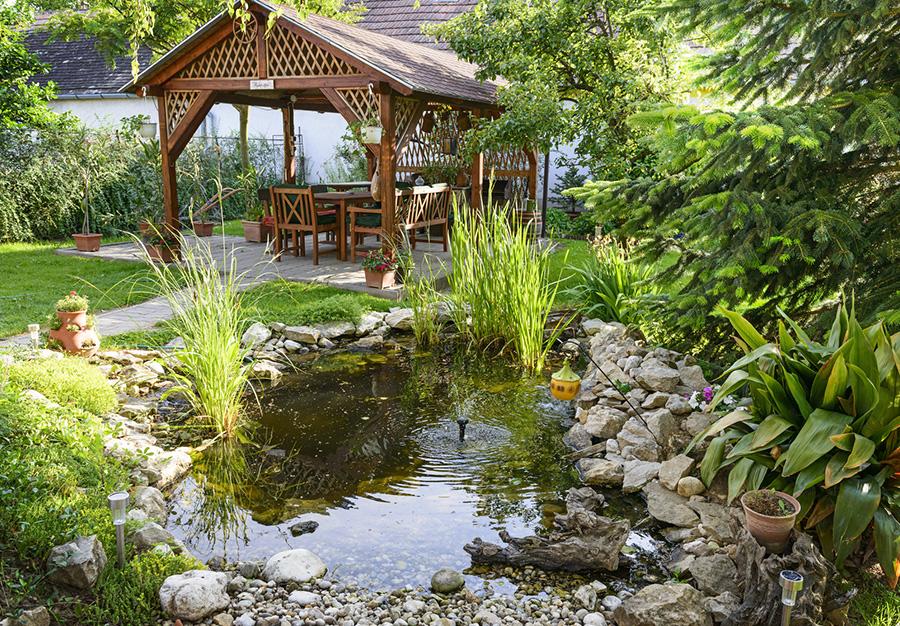 zakładanie ogrodu mała architektura